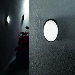 LED-Wandleuchte Preston IP65 20 cm, 2 Lichtfarben