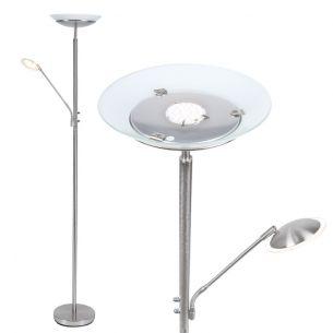 Klassischer Fluter mit innovativer LED-Technik, inklusive 1x18Watt und 1x3Watt, 3000°k, warmweiß