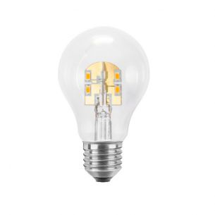 A60 LED  4,1 Watt  E27  2600K klar  dimmbar 1x 4,1 Watt, klar