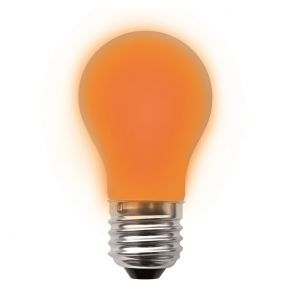 A60 LED  in orange, dimmbar 1x 2,5 Watt, orange, 2,5 Watt