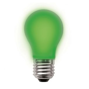 A60 LED  in grün, dimmbar 1x 3,2 Watt, grün, 3,2 Watt