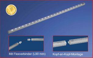 LED-Schienen-Baukastensystem, stellen Sie Ihre Lichtleisten individuell zusammen