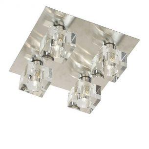 Deckenleuchte mit 4 Eiskristall-Würfeln ICE CUBE  Deckenlampe inklusive Leuchtmittel