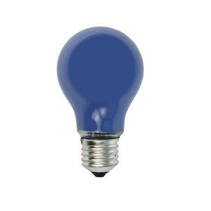 Leuchtmittel A60 25 W  E27 Classic A  in Blau 1x 25 Watt, blau