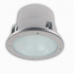 Deckeneinbaudownlight, Ø = 26cm, G24d - 2 x 18W