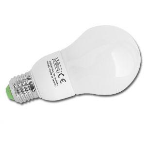 Dimmbare Energiesparlampe ESL Leuchtmittel A60 E27 9W 1x 9 Watt, 9 Watt, 405,0 Lumen, 130,00 mm