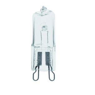 Halogenglühlampe ECO G9 klar für 230V Netzspannung, 20 - 60 Watt