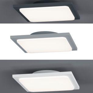Led au endeckenleuchten au endeckenlampen wohnlicht for Deckenleuchte rechteckig flach