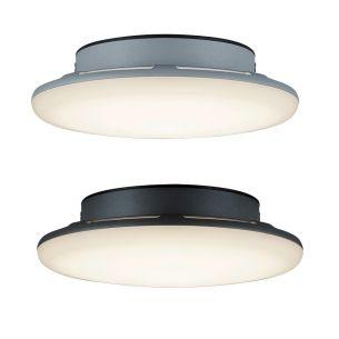 Moderne LED-Deckenleuchte für Außen - Aluminium - Kunststoff - 2 Farben - 2 Lichtstärken - 9 Watt oder 18 Watt LED