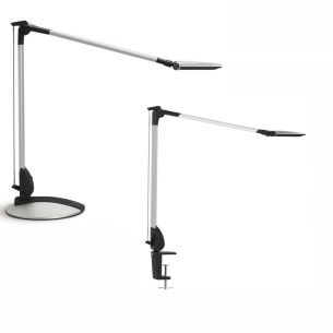 LED-Bürolampe 10W 500lm mit Klemme oder Fuß dimmbar