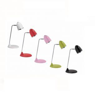 Schreibtischlampe inklusive 8W Energiesparlampe