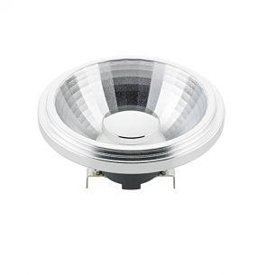LED Reflektorlampe AR111 12 Volt mit 12 Watt und 800 Lumen - 24° Abstrahlwinkel 1x 12 Watt, warmweiß extra (2.700 Kelvin), 24°