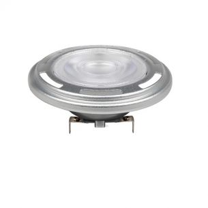 LED Reflektorlampe AR111 12 Volt mit 13,5 Watt 1000 Lumen dimmbar - 25° - 3000 Kelvin 1x 13,5 Watt, warmweiß (< 3.500 Kelvin), 25°