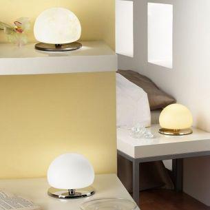 Design-Tischleuchte mit Touchdimmer, drei verschiedene Farben wählbar