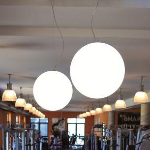 Pendel Snowball 30cm Ø für den Innenbereich 1x 40 Watt, 30,00 cm
