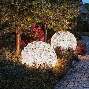 LED-Kugelleuchten aus Aluminiumgeflecht, 50 cm Durchmesser, warmweiß 150x 0,046 Watt, LED warmweiß, 50,00 cm