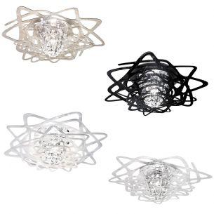 Designerlampe AURORA MINI von SLAMP - Design by Nigel Coates - in  schwarz, weiß, transparent oder rauchfarben