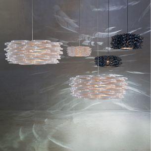 Pendelleuchte Aros Kollektion Lab - in Schwarz oder Weiß