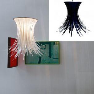 Pendelleuchte BETY Ø35cm von ARTURO ALVAREZ - Kollektion Lab - in schwarz oder weiß