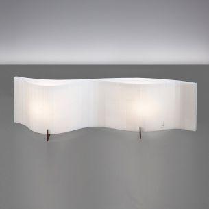 Tischleuchte VENTO von ARTURO ALVAREZ  - Länge 58cm - verschiedene Farbkombinationen