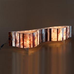 Tischleuchte VENTO von ARTURO ALVAREZ  - Länge 96cm - verschiedene Farbkombinationen