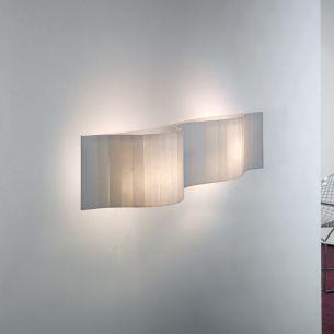 Wandleuchte VENTO von ARTURO ALVAREZ - Länge 58cm - Glas in verschiedenen Farben