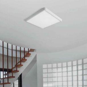 LED-Deckenleuchte in Weiß - dimmbar oder nicht dimmbar - inklusive 40W LED 3000K 3320 Lumen