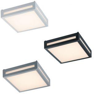 Moderne LED-Außen-Deckenleuchte - Inklusive LED 13,5 Watt 3.000 Kelvin 1000 Lumen - 3 Farben