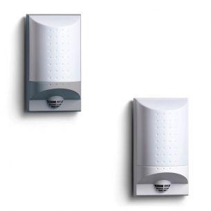 Schlagsichere LED-Außenwandleuchte - Hausnummernleuchte - mit Infrarot - Sensor - in 2 Farben