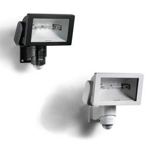 Sensor - Außenstrahler aus Kunststoff und Keramik mit Infrarot - Sensor - inklusive Halogenleuchtmittel - wählbar in zwei Farben