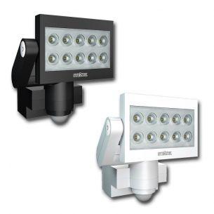 Moderner LED-Außenwandstrahler mit Bewegungsmelder - inklusive LEDs - erhältlich in zwei Farben