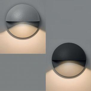 LED Wandeinbauleuchte -Top-Design für jede Fassade wählbar in zwei Ausführungen, IP65