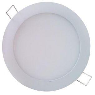 LED-Panel - Deckenleuchte - Durchmesser 18 cm - Weiß - Inklusive SMD-LED 12 Watt - Warmweiß oder Neutralweiß