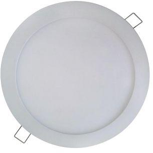 LED-Panel - Deckenleuchte - Durchmesser 24 cm - Weiß - Inklusive SMD-LED 18 Watt - Warmweiß oder Neutralweiß