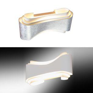 LED-Wandleuchte - Metall lackiert - Inklusive LED 11 Watt 640 Lumen - warmweiss - 2 Farben