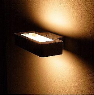 Wandleuchte mit Lichtspiel für stimmungsvolles Licht inkl. Leuchtmittel