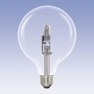 G120 ECO Globe,  E27, klar, 42 Watt 1x 42 Watt, 42 Watt, 55,00 Watt, 630,0 Lumen