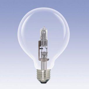 G95 ECO Globe,  E27, klar, 42 Watt 1x 42 Watt, 42 Watt, 55,00 Watt, 630,0 Lumen