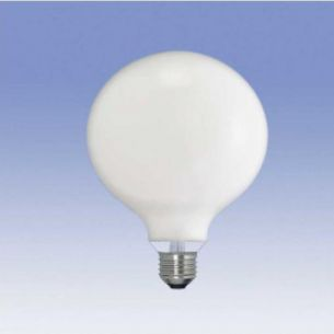 G120, Globe 40 Watt, opal weiß, stoßfest 1x 40 Watt, 40 Watt, 320,0 Lumen