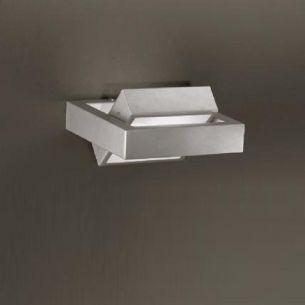 Moderne Wandleuchte in chrom zum Schwenken Wandlampe Beleuchtung Design modern