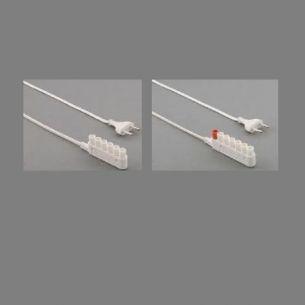 Zuleitung für Lichtleisten mit 6-fach Verteiler codiert und nicht codiert