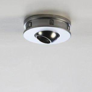 LED-Einbaustrahler schwenkbar mit LED-Lichterkranz in Chrom 6000°K tageslicht, 80lm 1Watt