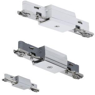 URail  Linien Verbinder  Chrom silber, Chrom/glänzend