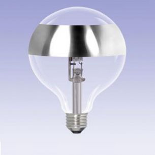 G95, Globe, Ringspiegel-silber, E27, ECO 42 Watt entspricht 60 Watt 1x 42 Watt, 42 Watt, 60,00 Watt, 510,0 Lumen