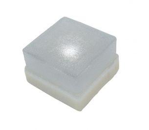 Leuchtender Pflasterstein - Glasklar, 1 x 0,3 Watt 1x 0,3 Watt, klar