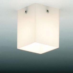 Decken Aufbauleuchte QUADRO SHORT SPOT - inklusive Halogenleuchtmittel 35W - Höhe 8cm 1x 35 Watt, C, 8,00 cm, Halogenlampen