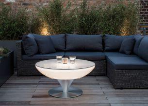 Lounge Outdoor in 45, 55, 75 und 105cm, ein Tisch für alle Fälle ...