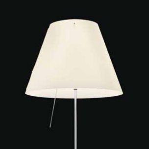 Kunststoffschirm zur COSTANZA in Weiß, Ø 40cm