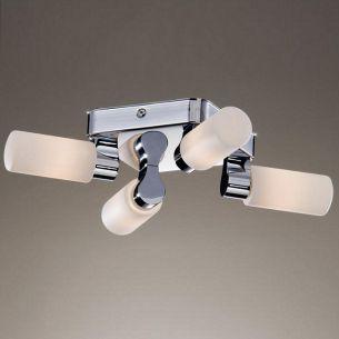 Deckenleuchte, IP44, ideale Badleuchte mit Halogenleuchtmittel