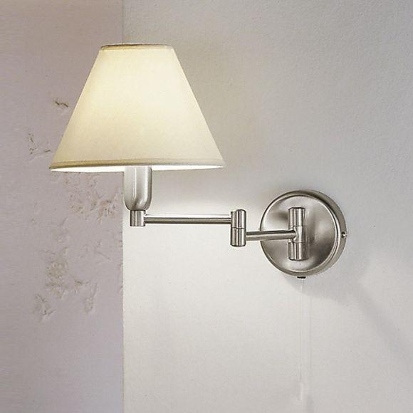 hilton von kolarz schwenkbare wandleuchte wohnlicht. Black Bedroom Furniture Sets. Home Design Ideas